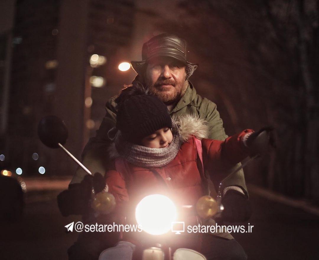 گریم رضا عطاران در فیلم سینمایی «روشن»+ عکس