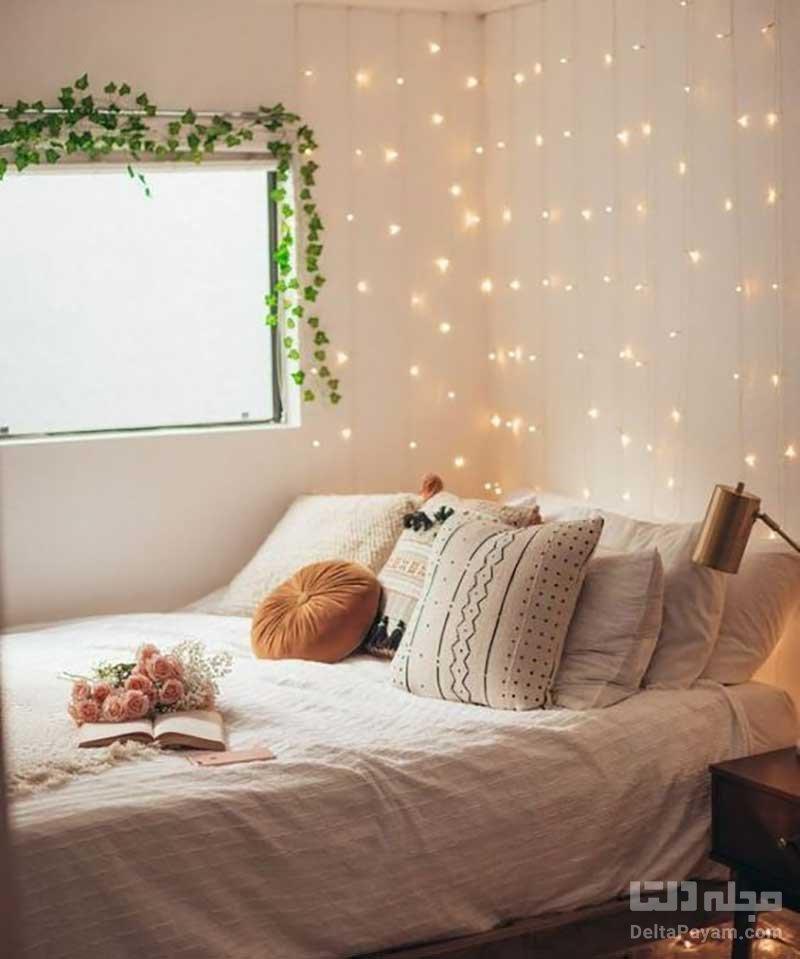 ایدههای تزیین دیوار اتاق خواب