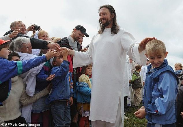 مسیح تقلبی در روسیه دستگیر شد + عکس