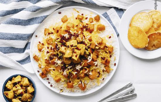طرز تهیه کدو حلوایی پلو؛ یک غذای پاییزی از شمال ایران