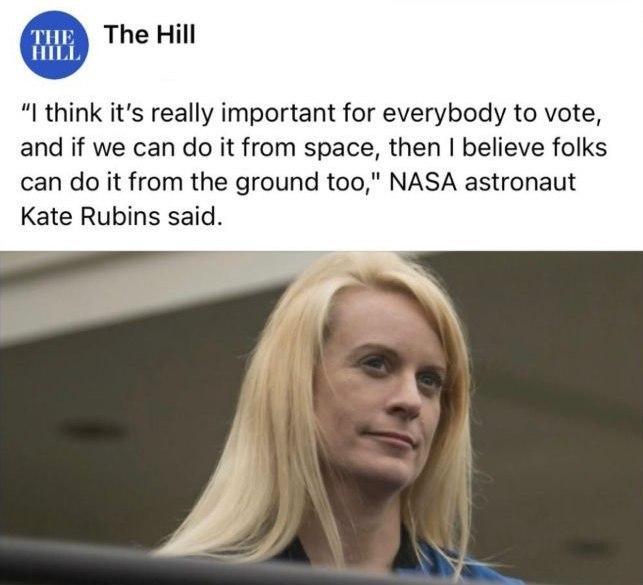درخواست عجیب خانم فضانورد آمریکایی+عکس