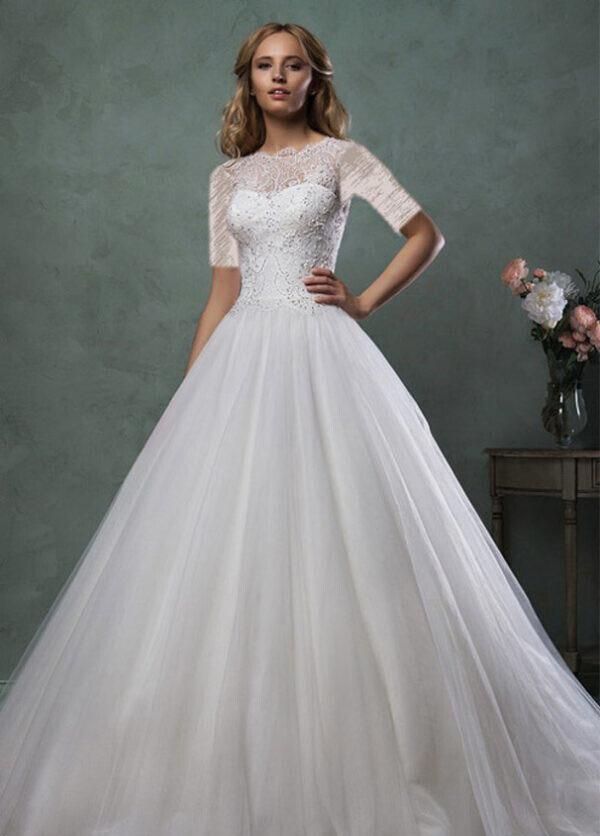 کلکسیون لباس های عروس رمانتیک طراح مشهور