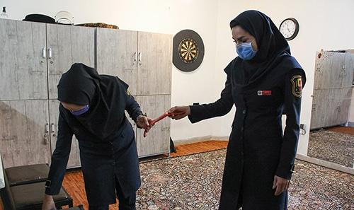 اولین گروه زنان آتشنشان در شیراز+عکس