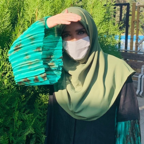 پوشش ژیلا امیر شاهی درخارج از رسانه ملی +عکس