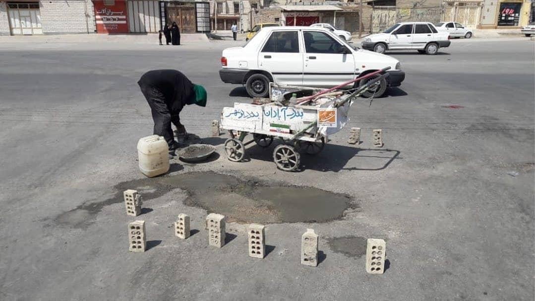 کار خودجوش یک شهروند خوزستانی همه را شوکه کرد +عکس