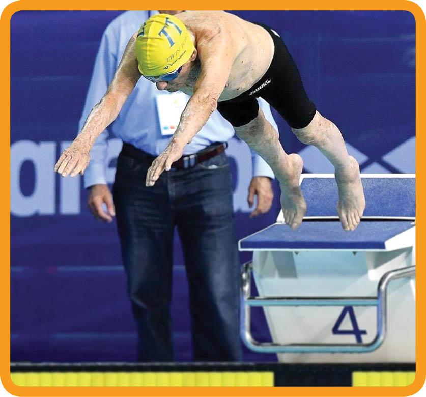 رکوردشکنی شناگر ۹۹ ساله استرالیایی+عکس