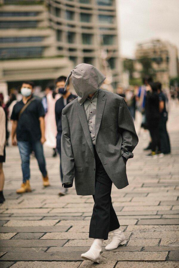 لباسهای عجیب و غریب مردان در هفته مد تایوان
