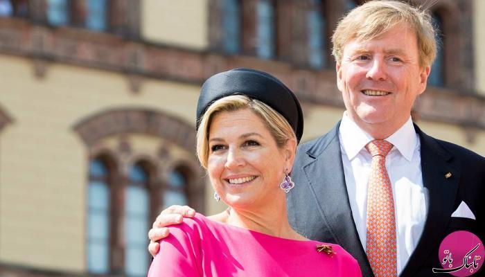 بازگشت پادشاه هلند از مسافرت بعد از اعتراض مردم