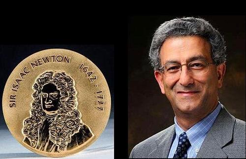 محقق ایرانی برنده مدال طلای «نیوتن» شد