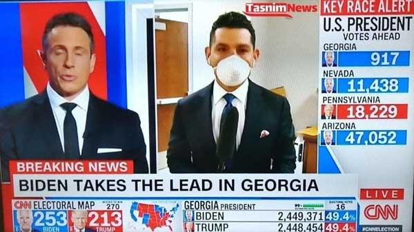 جهش بزرگ بایدن به سوی ریاستجمهوری +عکس