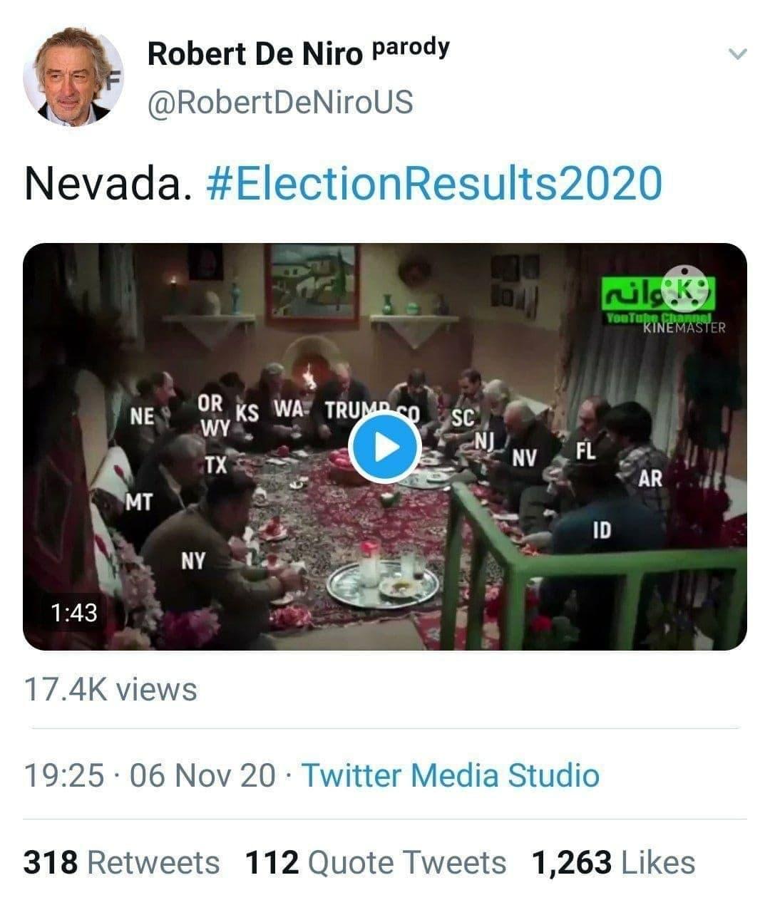 طنز ایرانی ها درباره انتخابات امریکا به توییتر بازیگر آمریکایی رسید +عکس