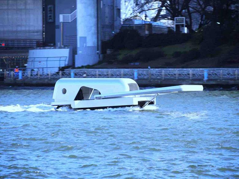 طراحی جالب یک قایق به شکل زیپ لباس!