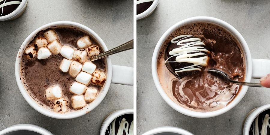 طرز تهیه بمب شکلات داغ؛ ترند غذایی جدید شبکه های اجتماعی