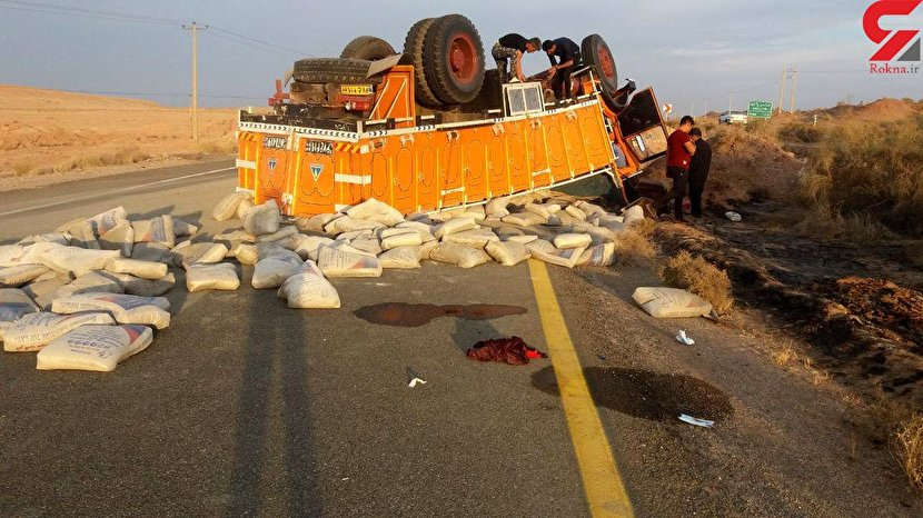 عجیبترین عکس از یک حادثه در بجستان