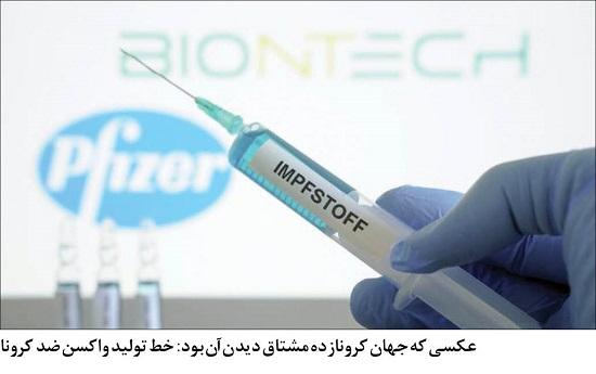 لبخند جهان به کشف واکسن کرونا +عکس