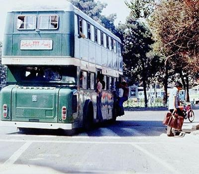 اتوبوسهای دوطبقه در تهران+ عکس