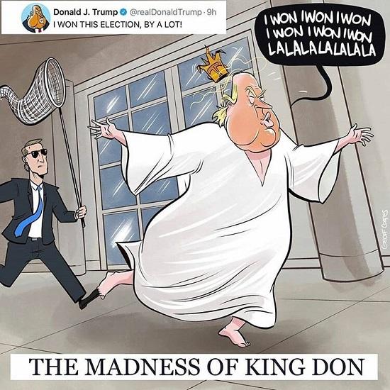 ببینید در کاخ سفید چه خبره!