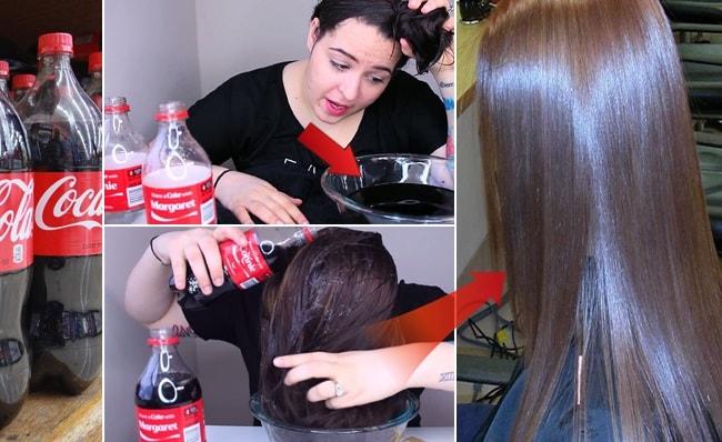آیا می توان موها را با نوشابه صاف کرد؟