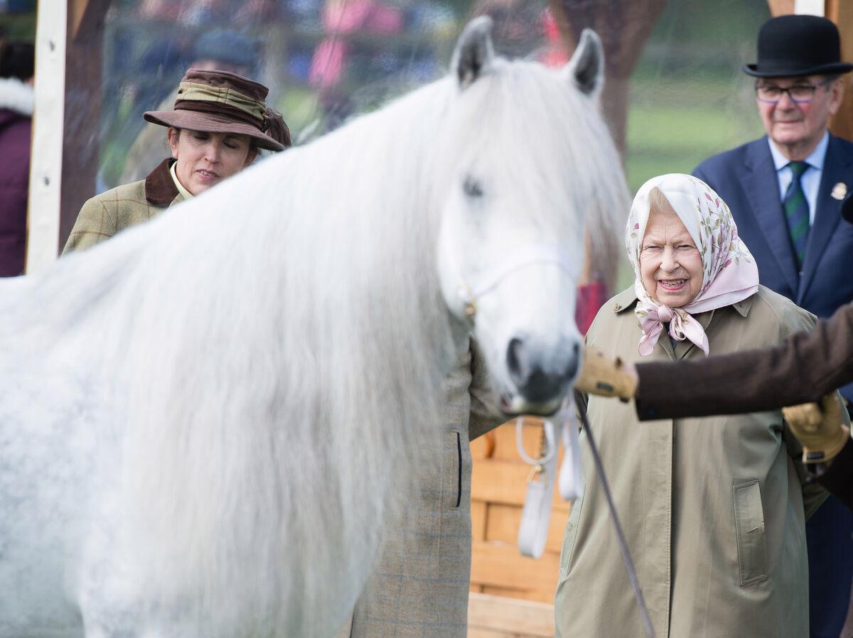 تیپ جالب ملکه انگلیس +عکس