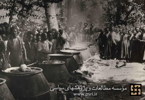 دیگهای غذای مشروطه خواهان در سفارت انگلیس + عکس