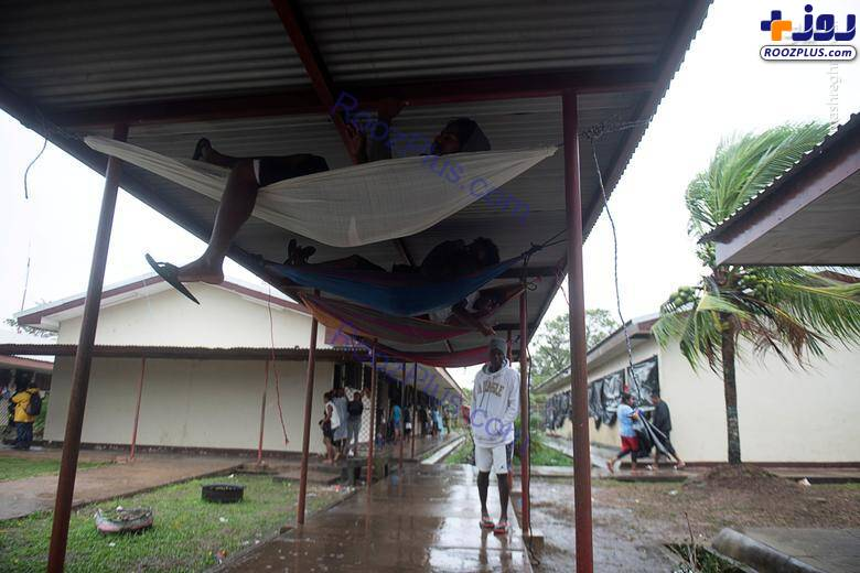 سرپناه عجیب برای طوفان زدگان نیکاراگوئه+عکس