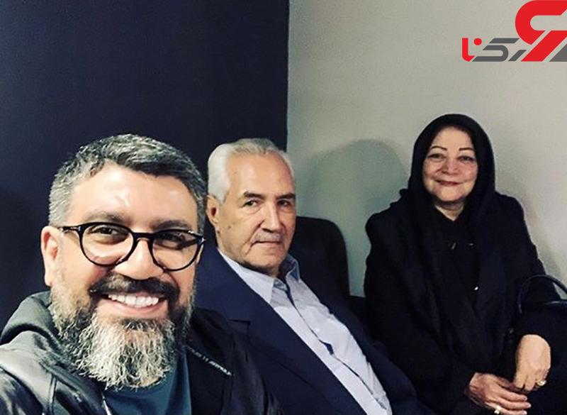 رضا رشیدپور داغدار شد +عکس