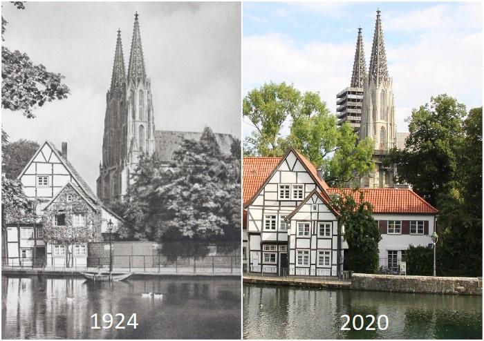 عکس از تغییر شاهکارهای معماری در طول ۱۰۰ سال
