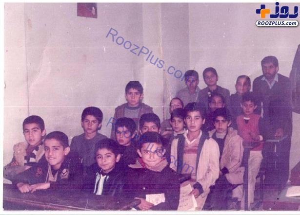 محسن تنابنده و یادی از دوران مدرسه+عکس