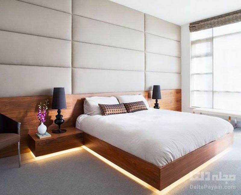 ایدههای خلاقانه برای نورپردازی اتاق خواب