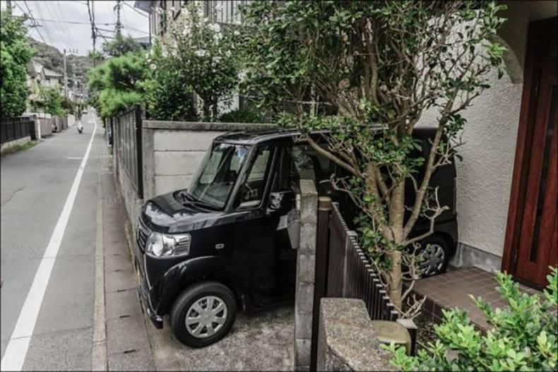 جای دنج برای پارک خودرو + عکس