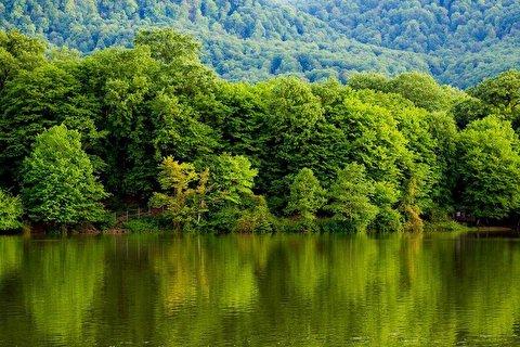 دریاچهای زیبا در ایران با چشم اندازی منحصر بفرد