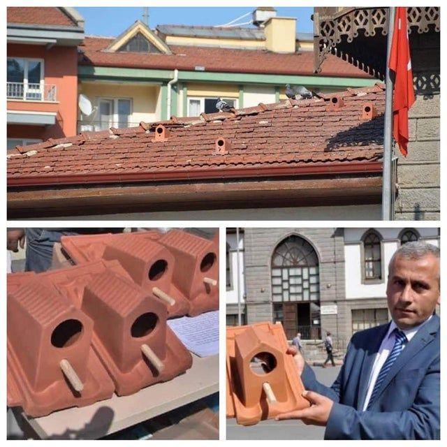 ابتکار خلاقانه کارخانه تولیدکننده کاشی سقف در ترکیه +عکس