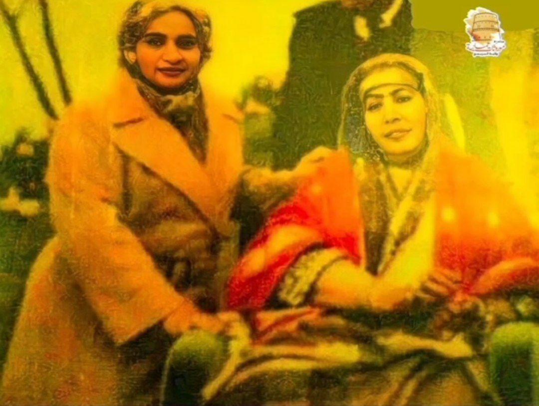 تصویری از مادر و خواهر سلطان قابوس