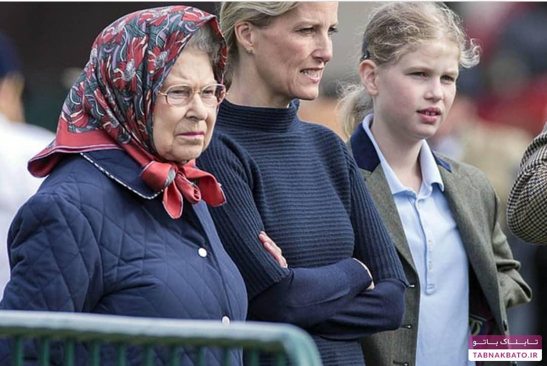 لو رفتن برنامه سفر تعطیلات ملکه انگلیس