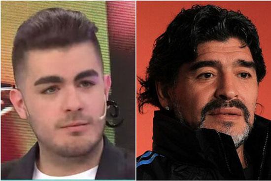 پسر ۱۹ ساله به دنبال نبش قبر مارادونا+عکس