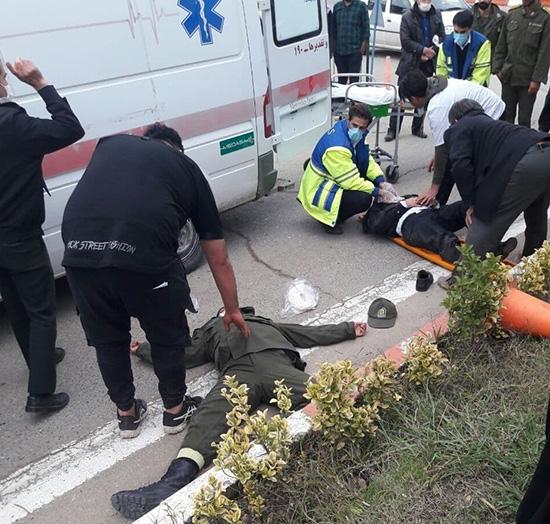 ضرب و شتم ۲ پلیس در مازندران برای ۳۰هزار تومان+عکس