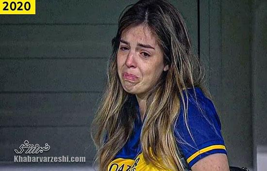چهره ماتمزده دختر دیگو مارادونا +عکس