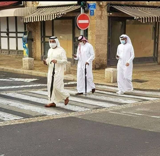 گردشگران اماراتی در خیابانهای تلآویو +عکس