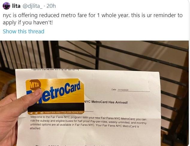 قیمت بلیت متروی نیویورک کاهش یافت + عکس
