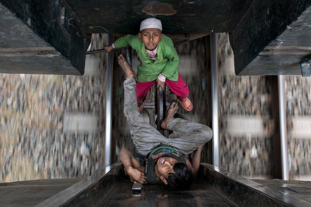 سواری مجانی در بنگلادش + عکس