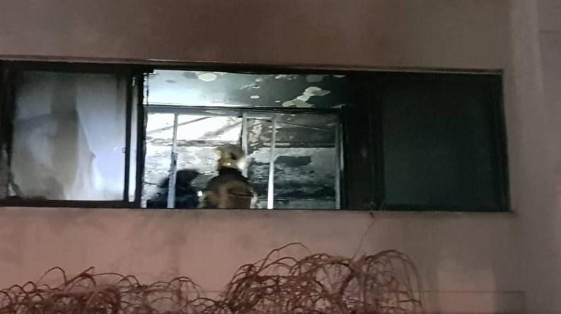 تهران|آتشسوزی بامدادی در برج مسکونی+ تصاویر