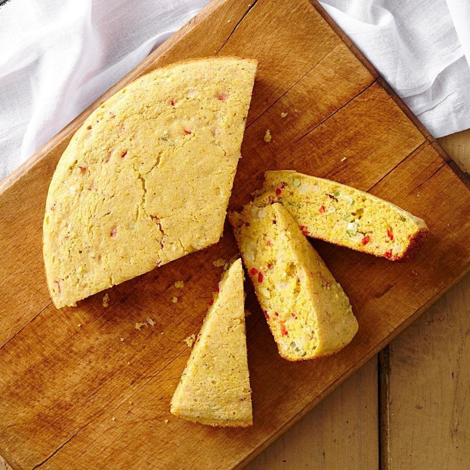 طرز تهیه خوراک نان ذرت با کمک یک زنِ سیاسی!