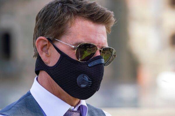 ماسک عجیب تام کروز +عکس