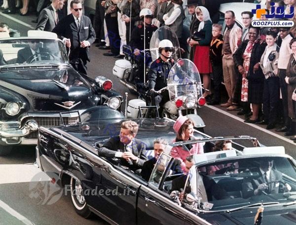 لحظه ترور و اصابت گلوله به صورت «کندی» رئیس جمهور آمریکا (۱۶+)