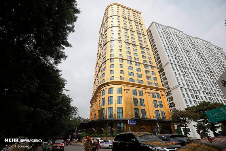 اولین هتل طلایی جهان +عکس