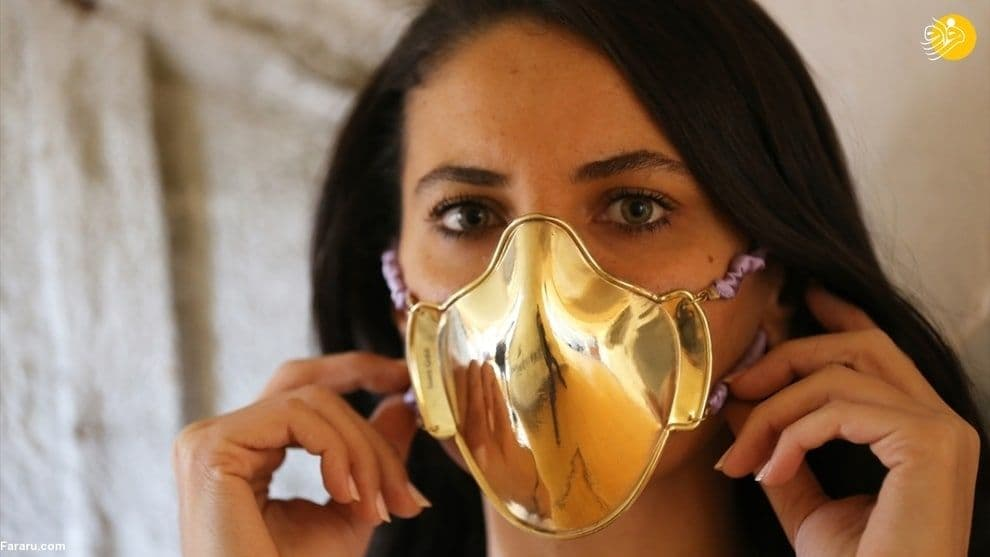تولید ماسک از طلا و نقره در ترکیه +عکس