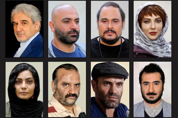 گریم بازیگران در «یقه سفیدها» +عکس