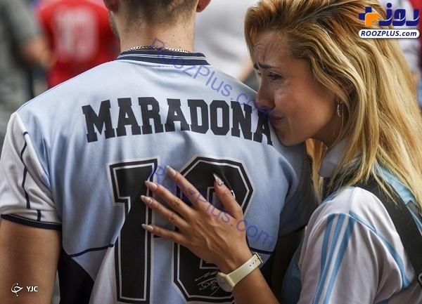 سوگواری برای اسطوره در آرژانتین +عکس