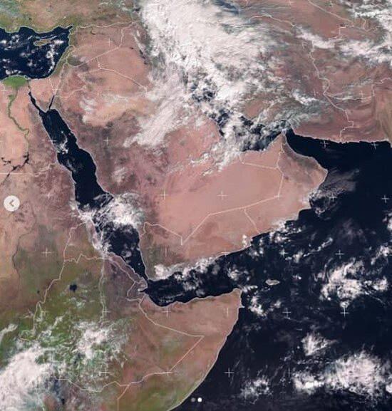 نقشه ماهوارهای بارندگی در کشور منتشر شد