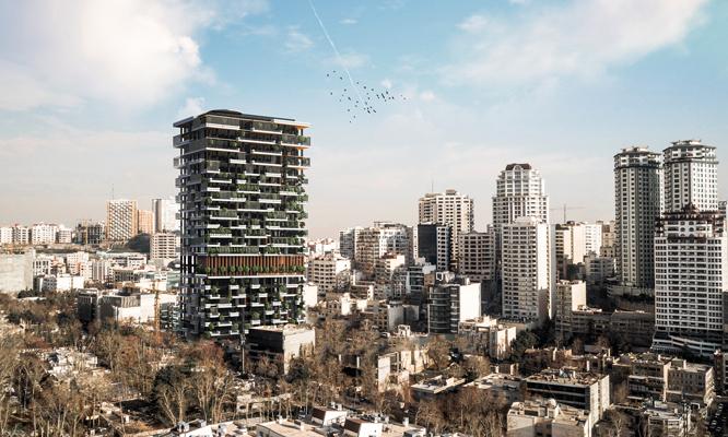 برج شگفتانگیز تهران، با امکاناتی که هوش از سرتان میبرد
